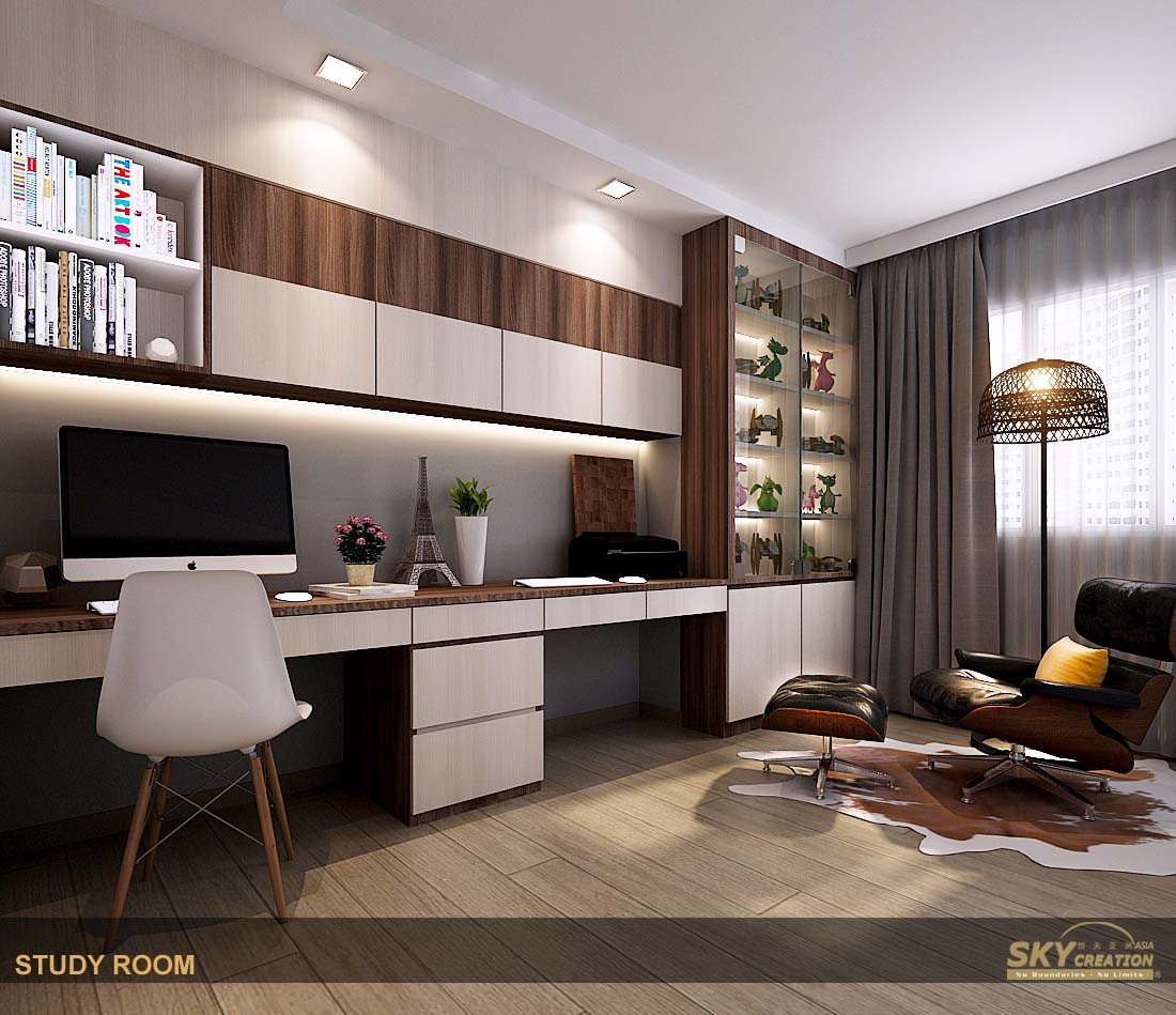 Study Room At Home: Skycreation Asia